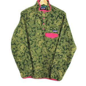 Patagonia Synchilla T-Snaps Made in Mexico Fleece
